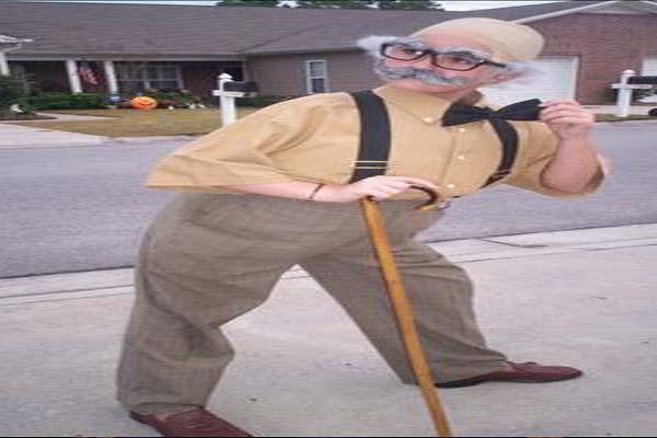 The Grandpa halloween costume