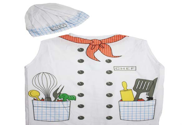 halloween chef costume for kids