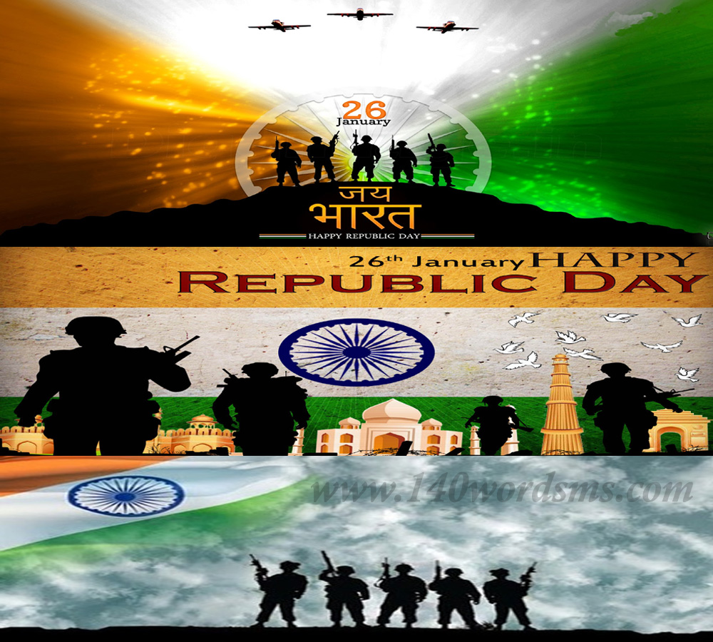 Best Independence Day (15 August), Republic Day (26 January) & Patriotism Whatsapp SMS Messages in Hindi