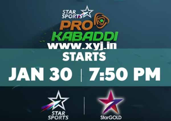 Pro Kabaddi League Season 3 (2016) Match Schedule & Team Squad Details