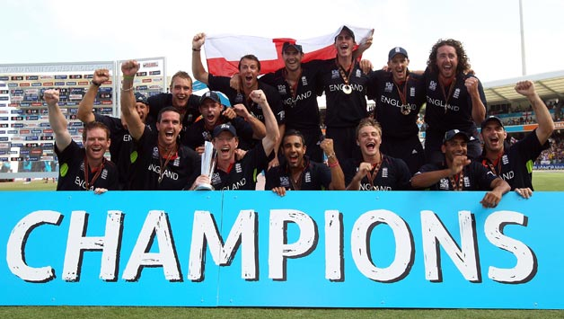 ICC T20 World Cup 2010 Winner England Team Image