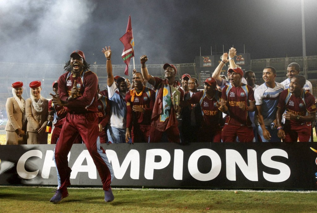 ICC T20 World Cup 2012 Winner West Indies Team Image