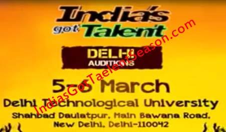 India's Got Talent Season 7 Delhi Audition Date & Venue Details