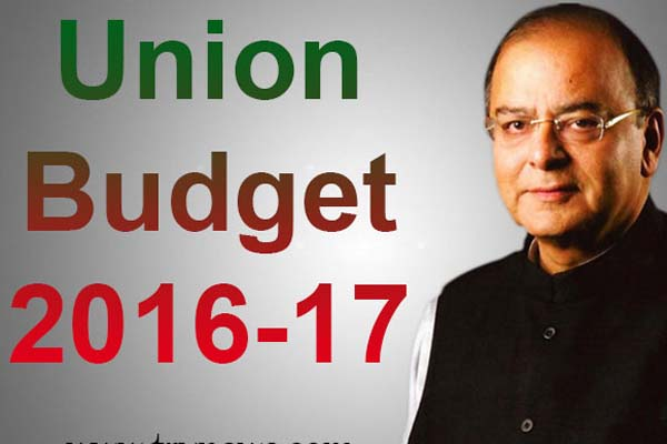 union budget 2016-17 by arun jaitely