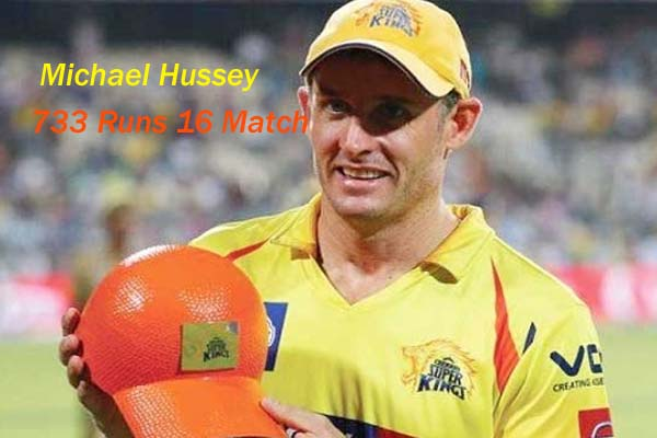 Michael Hussey IPL 2013 Season 6 Orange Cap Holder