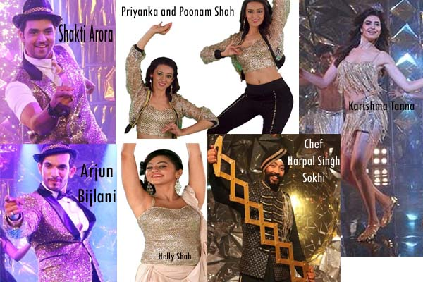 Jhalak Dikhhla Ja Contestants Name with Image