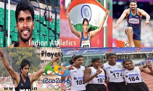 List of Indian Players (Athletes) Who Qualified for Athletics in Rio Olympics 2016