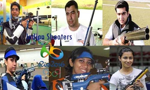 List of Indian Players (Athletes) Who Qualified for Shooting in Rio Olympics 2016