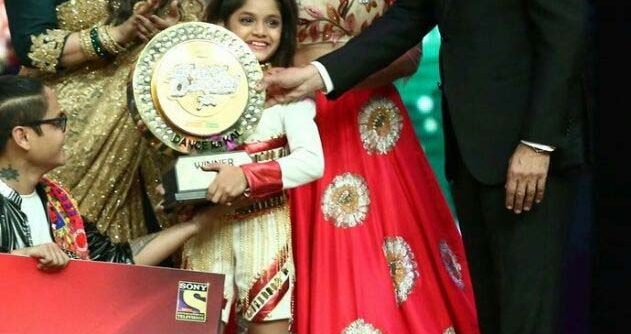 Super Dancer Grand Finale Winner Ditya Image