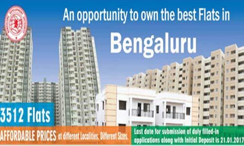 Bangalore Development Authority (BDA) New Housing Scheme for 3512 Flats