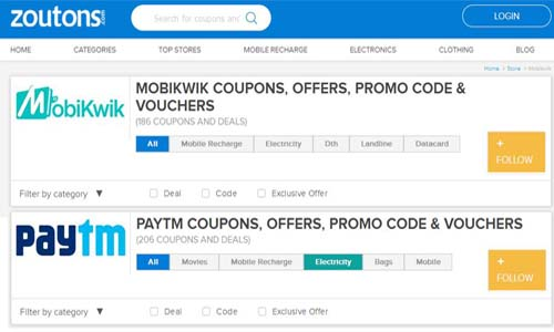 Your Guide to Offers and Coupons on Paytm and Mobikwik