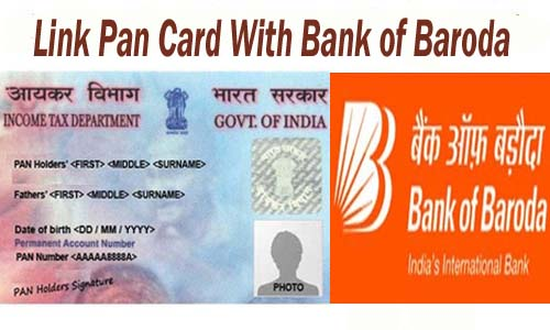 Link Pan Card with Bank of Baroda Bank Account Online| Offline | SMS | IVRS