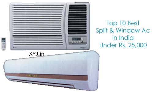 Top 10 Best AC Brands Under Rs. 25000 in India