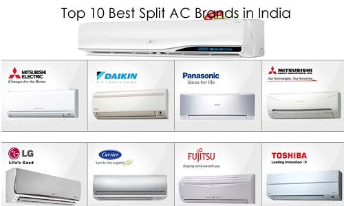 Top 10 Best Split AC Brands for Home in India in 2017